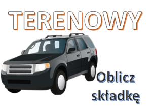 Ubezpieczenie komunikacyjne OC AC samochód terenowy